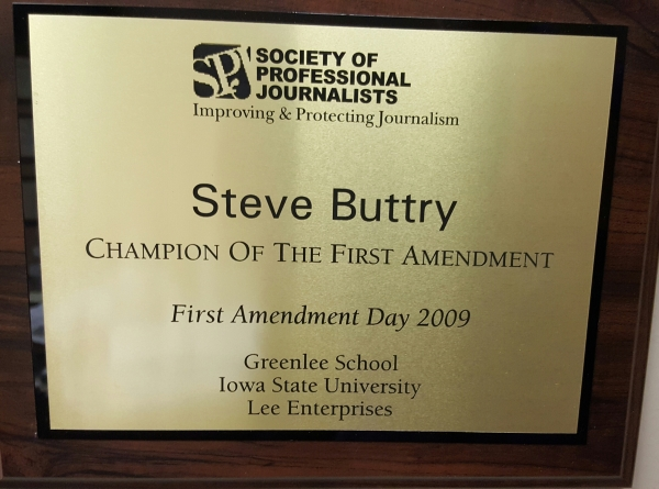 First Amendment plaque
