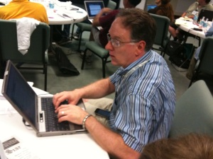 Me at the 2009 #BigIdeas conference at Poynter