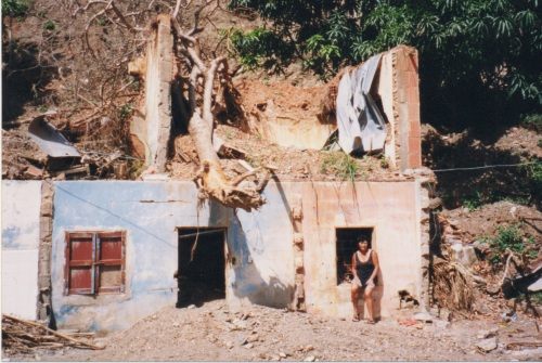 Venezuela mudslide damage