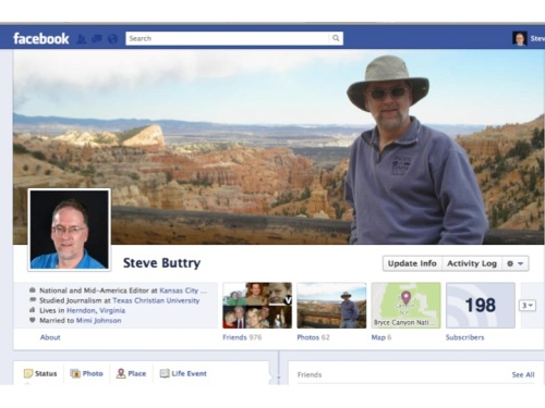 Steve Buttry Timeline on Facebook