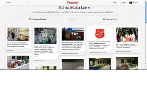 Fill the Media Lab