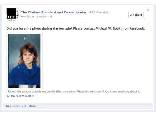 Chelsea Standard and Dexter Leader Facebook update