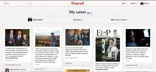 Steve Buttry's career Pinboard on Pinterest
