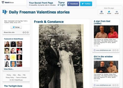 valentines freeman
