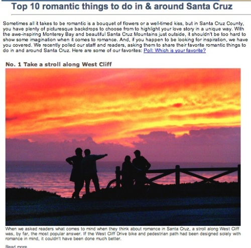 Valentines Santa Cruz