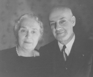 Francena H. and Frank M. Arnold, my grandmother and grandfather