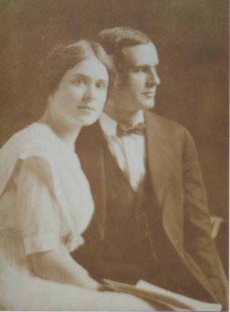 Francena H. and Frank M. Arnold's wedding photo