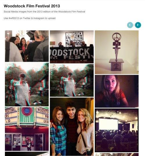Daily Freeman gallery of user photos from the Woodstock Film Festival
