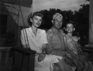 Dorothy, Bob and Nancy Moore