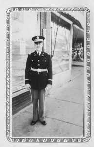 Capt. Robert Moore in his National Guard uniform