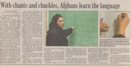 Afghan language