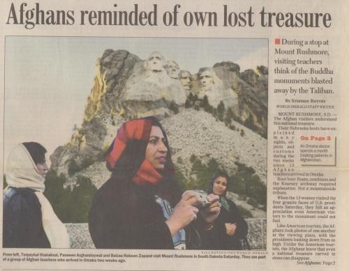 Afghan Rushmore