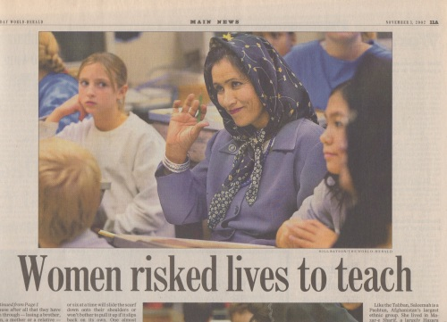 Afghan teachers 2
