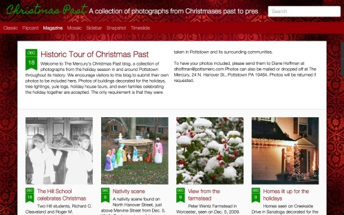 Pottstown Christmas past