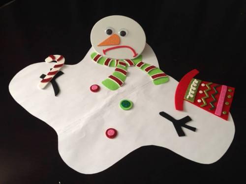 Editorial's winning snowman