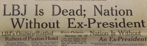 LBJ headline