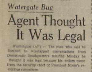 Watergate head