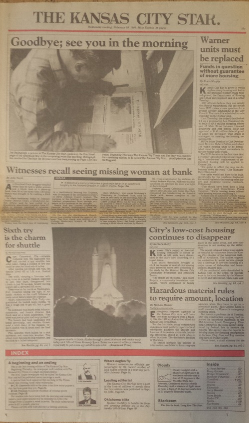 Kansas City Star Feb 28 1990