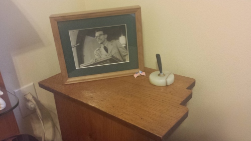 My new nightstand, made by Dad 60-plus years ago