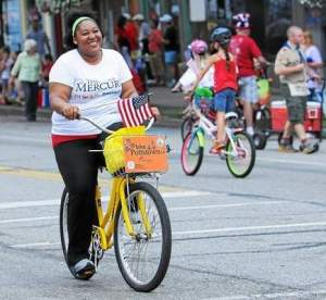 Miica Patterson riding for Bike Pottstown