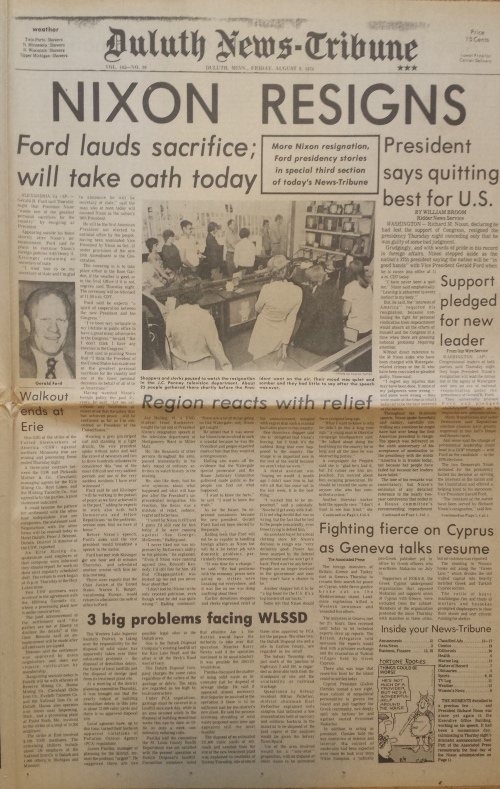 Duluth News-Tribune, Aug. 9, 1974