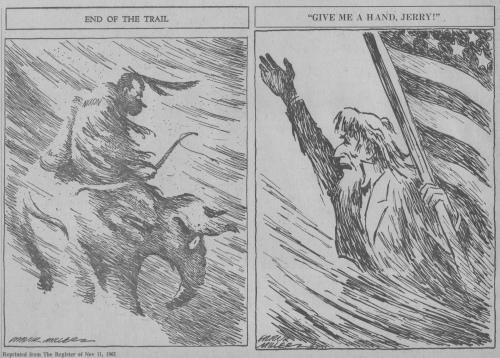 Frank Miller cartoons