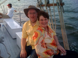 Mimi and I cruised the Gulf of Mexico twice since my first cancer diagnosis.