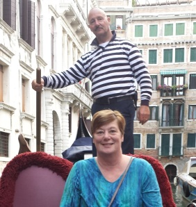 We rode a gondola in Venice nearly 15 years after my first cancer diagnosis.
