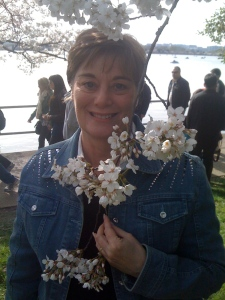 Mimi and I enjoyed several cherry blossom seasons in Washington.