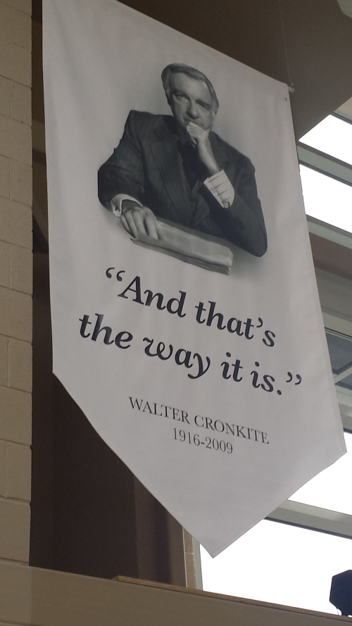 Walter Cronkite Memorial