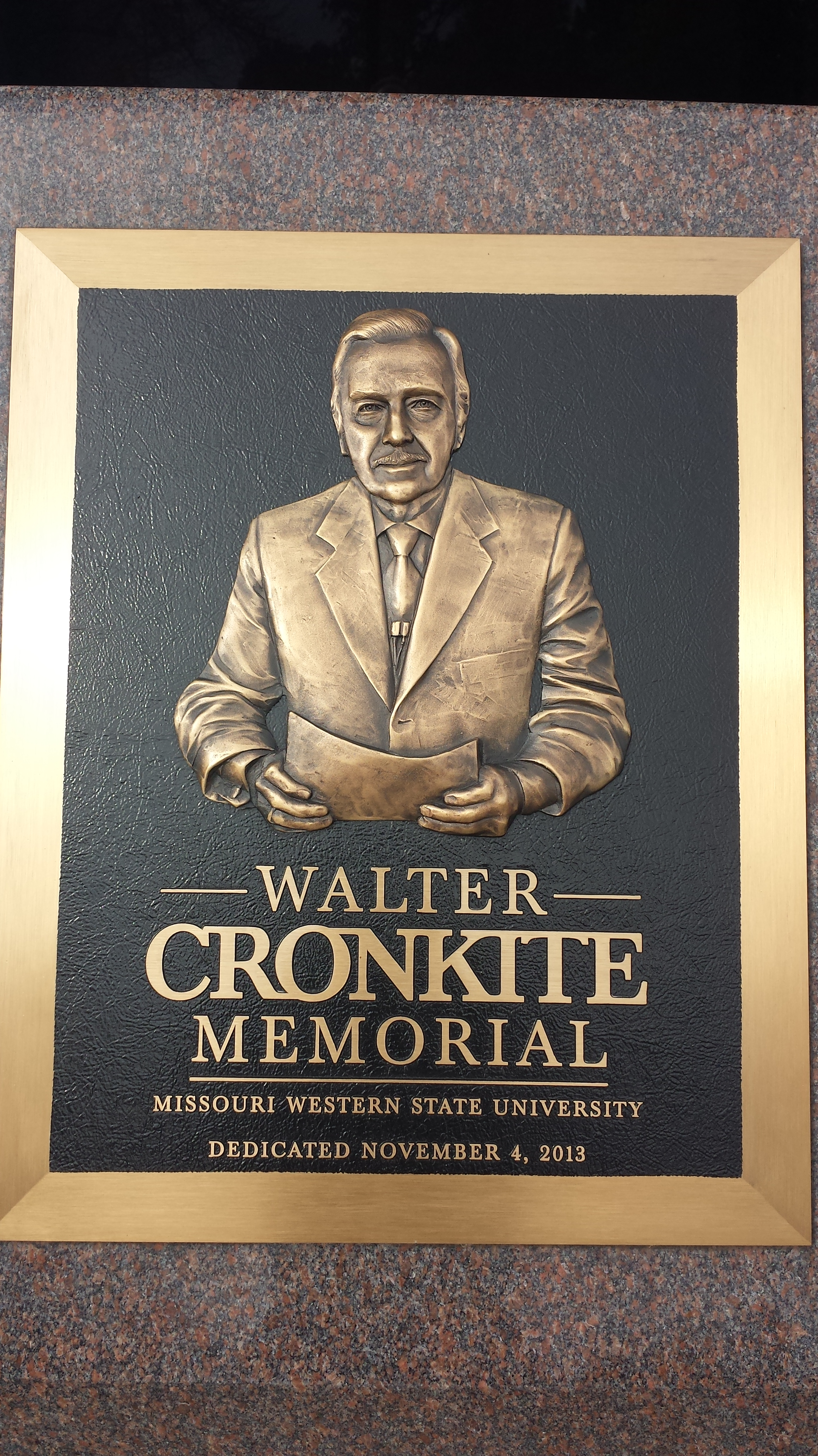 What are some things Walter Cronkite did?