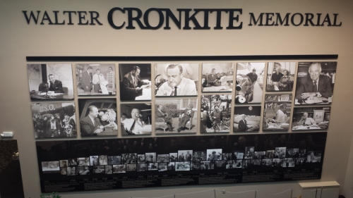 A timeline of Walter Cronkite's life, starting with his birth in St. Joseph.