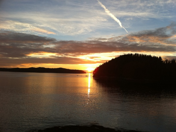 Few sights are more beautiful than a Tofino sunset.