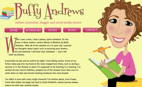 Buffy Andrews author page