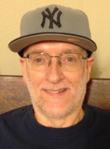 Steve Buttry Yankee cap