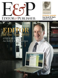 Editor & Publisher cover Steve Buttry