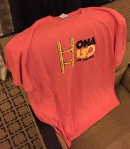 Thanks to Trevor Knoblich for snagging me a t-shirt, even though I couldn't make #ONA15!
