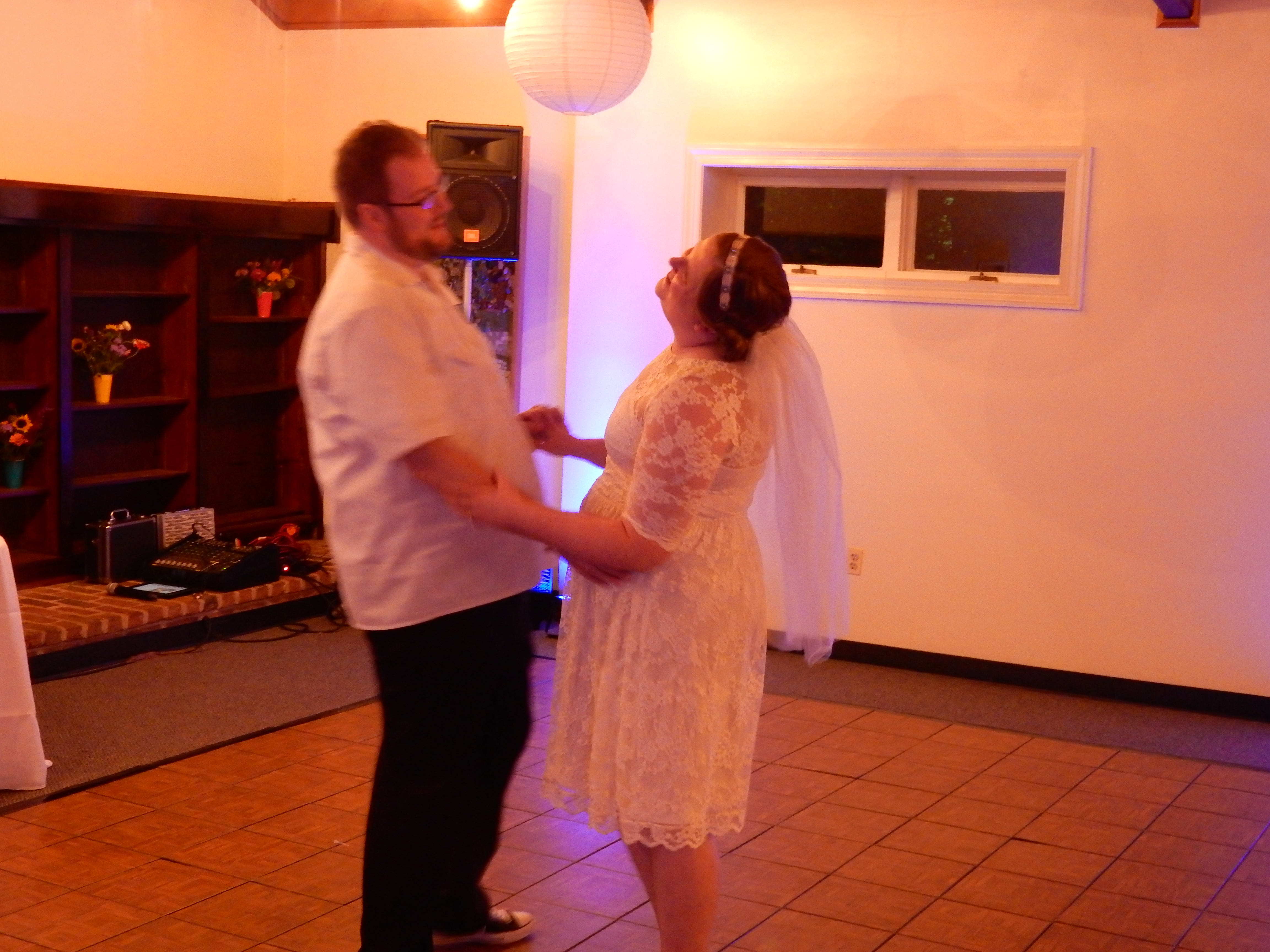 as promised i danced at tom and ashley�s wedding the