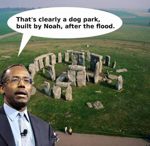 Ben Carson Stonehenge meme