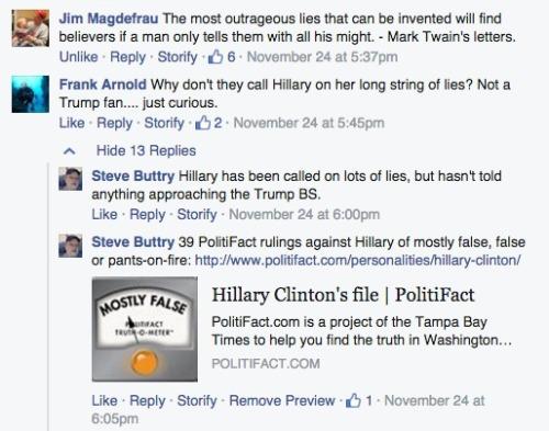 FB trolls lying 2