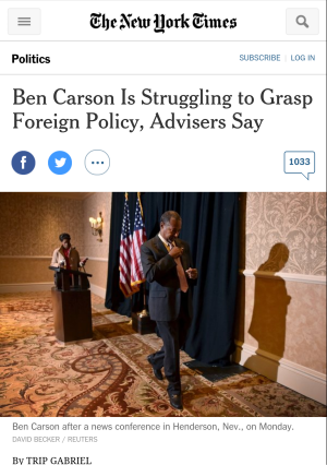 NYT carson