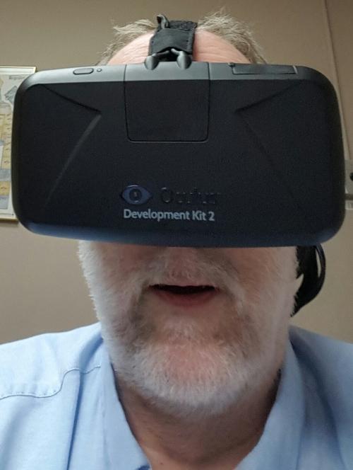 My Oculus Rift selfie