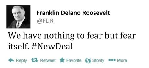 FDR tweet