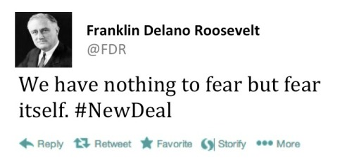 fdr fear itself speech