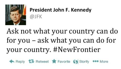 JFK tweet