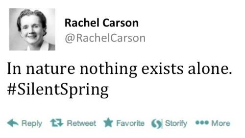 Rachel Carson tweet