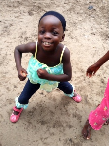 Tina, living in a Congolese orphanage, should someday get to meet her cousin Maya.