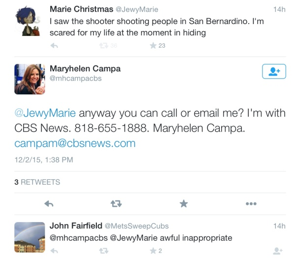 CBS News Campa Fairfield response