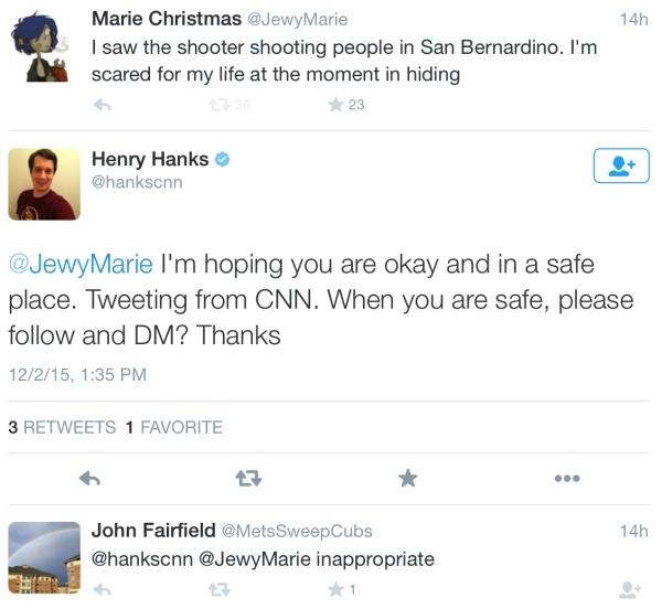 CNN Hanks Farifield response