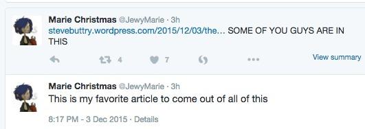 Marie trolls buttry